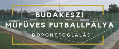 Budakeszi műfüves futballpálya időpontfoglalás